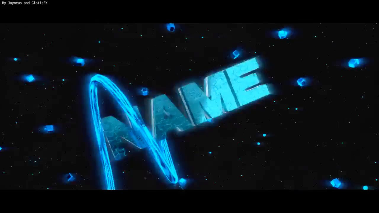 Blue Sync Blender Intro Template FREE DOWNLOAD