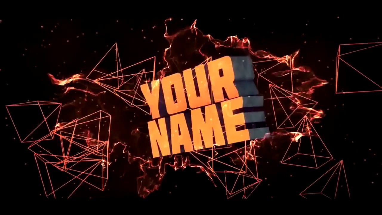 orange edm sony vegas pro and cinema 4d intro template