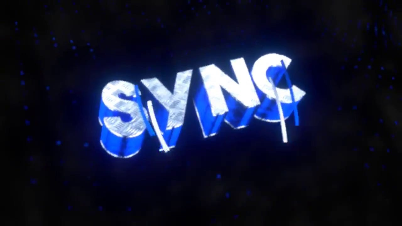 Multicolor Sync Blender EDM 3D Intro Template