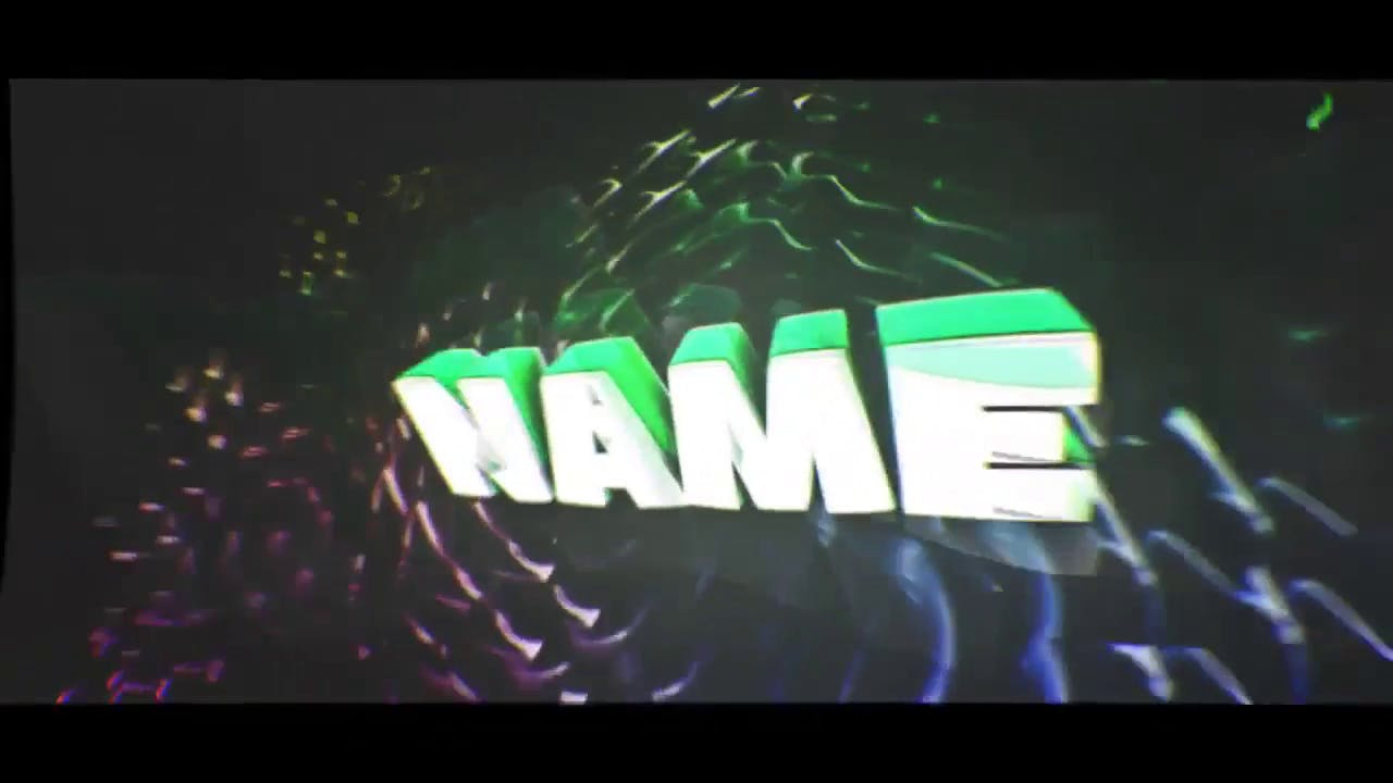 Subtle Multicolor 3D Intro Template AE C4D EDM Intro