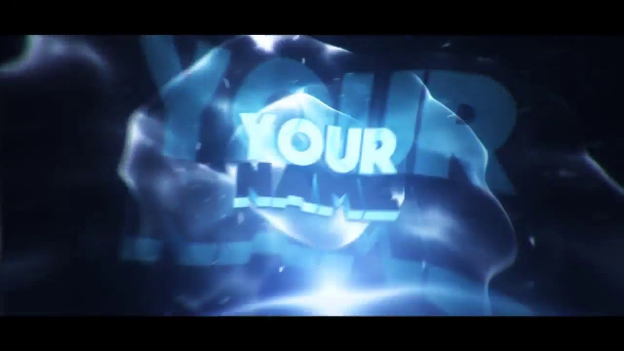 Cool EDM 3D Intro Template After Effects and Cinema 4D