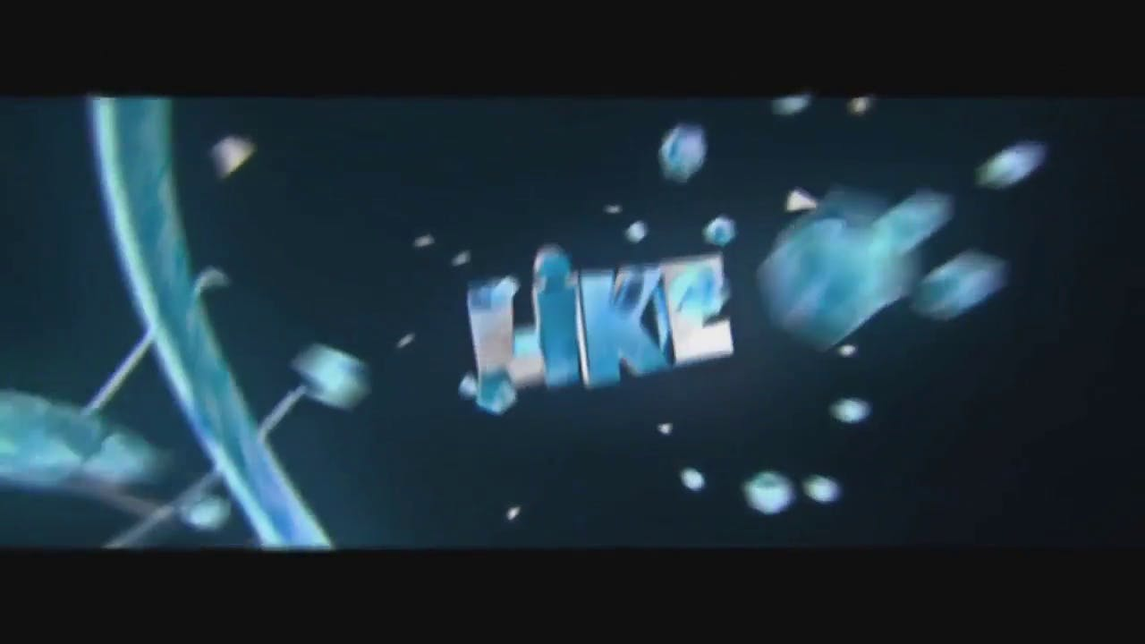 Free chill 3D intro template Calming AE C4D Opener
