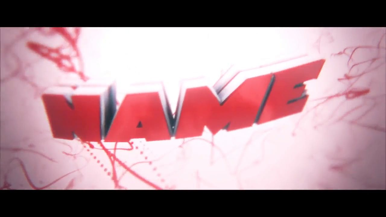 DNA Cool Red 3D After Effects and Cinema 4D Intro Template